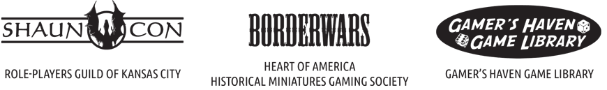 ShaunCon, Bordewars, and Gamer's Haven Game Library