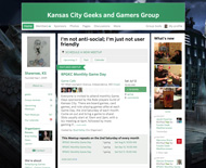 KC Geeks and Gamers Meetup Group